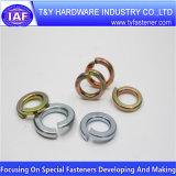 Высокое качество DIN127 белый оцинкованные пружинные шайбы