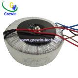 円環形状の変圧器をつける200va変圧器