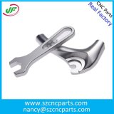 Peças CNC de alumínio personalizadas para acessórios de motocicleta, peças de usinagem CNC