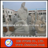 Perfecto tallado en piedra de granito, la estatua de piedra y la Escultura