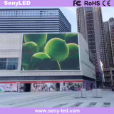 LED de video pantalla exterior Purpouse con fines comerciales.