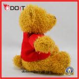 OEM van de douane Embleem die de PromotieTeddybeer van het Stuk speelgoed van de Gift afdrukken