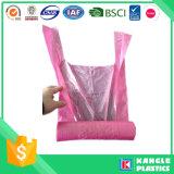 Sacchetto di immondizia di plastica del popolare dell'HDPE C su rullo