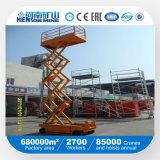 Платформа работы подъема верхнего тавра Henan высокая