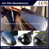 Pellicola lucida eccellente rossa del vinile della fibra del carbonio 5D dell'involucro dell'automobile del veicolo
