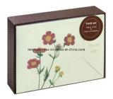 Fabricante Gracias oro de la impresión del papel tarjeta de felicitación