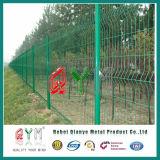 Coated зеленым покрынная винилом сваренная загородка ячеистой сети Qym-PVC