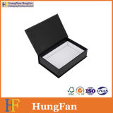 Regalo de papel promocional que resbala el rectángulo del cajón con la cinta