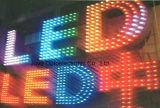 van het Oranje LEIDENE van 9mm Lichte Koord het Lichtgevende Pixel van de Brief voor Reclame