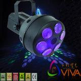 Équipement de scène/Hot vendre six LED effet magique du faisceau de lumière/phase Lumière (QC-LE020)