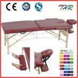 Bois de hêtre Table de massage portable