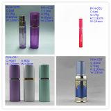 6-40ml L'atomizer Flacon de parfum de verre aluminium
