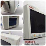 Meditech MD8000 больницу медицинские прикроватный монитор с кривой ЭКГ в 7 отведениях