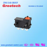 Micro microinterruttore 5A Spdt del cambiamento dell'interruttore IP67 del pulsante impermeabile