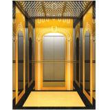مسافر مصعد مع آلة غرفة