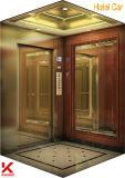 小さい機械部屋が付いている商業エレベーター