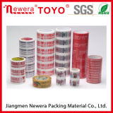 El pegamento al por mayor de BOPP imprimió la cinta con insignia/la cinta modificada para requisitos particulares de la insignia