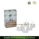 Ivory Outdoor Flameless LED Votive Candle Set avec télécommande