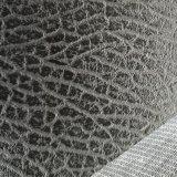 SGS Gold Certification Z010 Classic Paragraph Lychee Pattern Business Réception Sofa Cuir PVC Cuir artificiel Cuir en PVC