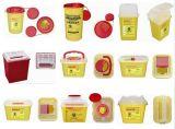 Wegwerfbarer medizinischer scharfer Plastikbehälter