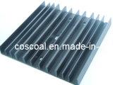 Profilo di alluminio dell'OEM per il dissipatore di calore con Drilling&Black anodizzato