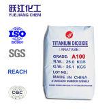 Anatase диоксида титана с высокая белизна (A100)