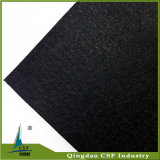 8mmの厚さの黒の適性のためのゴム製床の体操