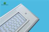 iluminación al aire libre accionada solar integrada de 40W LED con control del APP de Bluetooth