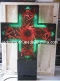 Outdoor Double Faced LED Pharmacy Cross