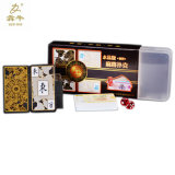 PVC Mahjong Playing Cards / Plastic Poker Playing Cards