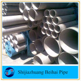 ANSI B36.19m del tubo del acero inoxidable A312 TP304L Smls Sch40s