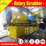 Planta movible de la recuperación del oro de la alta capacidad, depurador rotatorio del oro de la arcilla