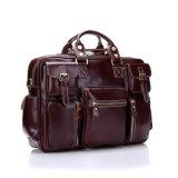 Leistungsfähiger gute Qualitätsleder-Wochenenden-Kleidersack