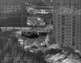 二重赤外線画像の&CCDのセキュリティシステム(レーザーの距離計と)