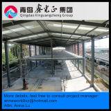 Salón de muestras y oficina (SS-67) de acero de la estructura