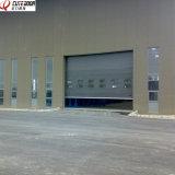 Автоматическая надземная секционная раздвижная дверь