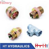 Adaptateur hydraulique droit d'ajustage de précision de pipe (6C. 6D/6C-LN-RN/6D-LN/RN)