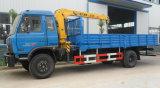 Dongfeng 4*2 판매를 위한 드는 화물 자동차 기중기 트럭
