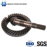 정면 드라이브 차축 나선 비스듬한 기어에 있는 BS5012 11/40 정밀도 금속 트랙터 말 힘 120-140 자동차 부속