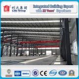 Edificio de acero prefabricado de la estructura de acero de la luz del palmo grande
