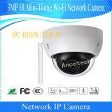 De Camera van kabeltelevisie van wi-FI van de mini-Koepel van IRL van Dahua 3MP (ipc-hdbw1320e-w)