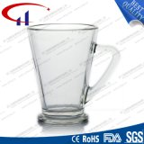 250ml極度の白いガラスビールのジョッキ(CHM8062)