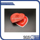 Stern-Form-Schokoladen-Plastiktellersegment anpassen