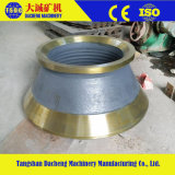 L'alto frantoio del cono dell'acciaio di manganese parte la fodera del cono