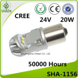 High Power CREE 20W 1156 Auto LED Carro Turn Light