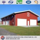 Entrepôt préfabriqué de structure métallique pour la machine
