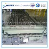 Система конвейера для транспортировки поддонов с роликового конвейера