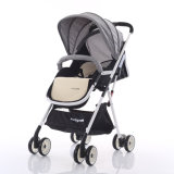 折る様式の高さの調節可能なシートの赤ん坊の手押車