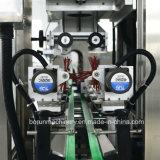 China-doppelte Kopf-Plastikflaschen-Schrumpfhülsen-Etikettiermaschine