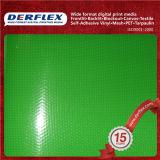 UV 저항하는 방수포 PVC 입히는 폴리에스테 직물 무거운 비닐 물자
